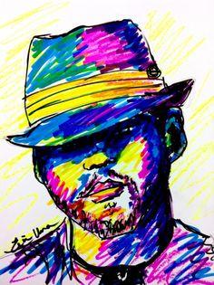Sketchy #794: Joshua Stedman by Erin Una Chainani