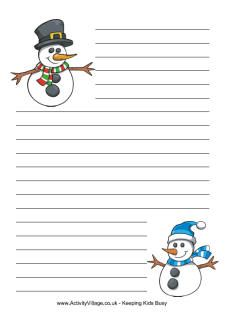 We've got all sorts of new winter stationery pages here for you to print and use in your writing projects both at home and school. Lined Writing Paper, Writing Papers, Kindergarten Projects, Kindergarten Themes, Xmas Quotes, Christmas Writing, Winter Activities For Kids, Notebook Art, 4th Grade Writing