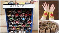 25 idées de choses à fabriquer avec des rouleaux de papier toilette vides !