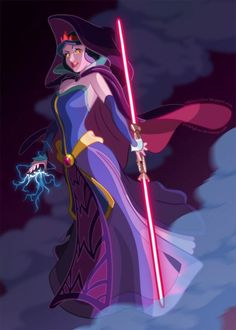 Must cosplay as Star Wars dark side Snow White!  OMG, this is brilliant!