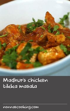 Madhur's chicken tikka masala | Probably created in Britain, chicken tikka masala - or CTM as it is often called - is easily most popular Indian curry in the UK today. Marks & Spencer claim to sell 18 tonnes of it every week; an estimated 23 million portions are sold in Indian restaurants each year; while 10 tonnes a day are produced by Noon products, to be sold in supermarkets. And yet nobody is quite clear about its origins. It is possible that a chef in Birmingham, with too many…