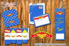 Convites Digitais Simples: Lembrança para o Dia das Mães ( mini kit para personalizar) para Imprimir