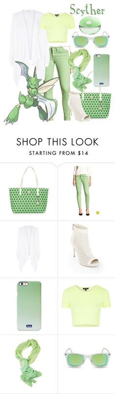 """""""Scyther!"""" by miyu-san ❤ liked on Polyvore featuring MICHAEL Michael Kors, Banana Republic, Oasis, BCBGMAXAZRIA, Keds, Topshop, Polo Ralph Lauren, Ray-Ban, games and Pokemon"""