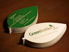 Uniquely Shaped Business Cards
