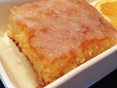 BOLO DE LARANJA MOLHADINHO Other Recipes, My Recipes, Sweet Recipes, Cake Recipes, Cooking Recipes, Favorite Recipes, Food T, Love Food, Food And Drink