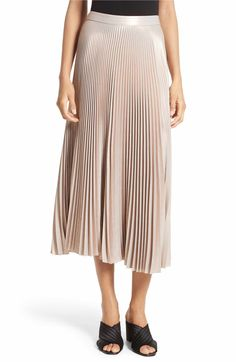 f48ab8ada7b Main Image - A.L.C. Bobby Pleated Midi Skirt Outfits For Teens