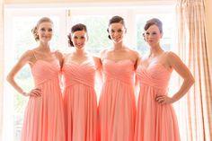 Bridesmaids, Photography by L&G images, NZ wedding photographers. Markovina Vineyard Estate.