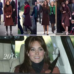 Catherine, Duchess of Cambridge - Brown Hobbs coat history