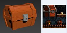 Mark Badoy, Spelunky Chest WIP. http://meatfortress.com/