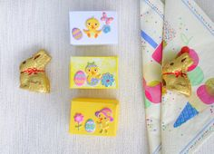 8 Easter party boxes mini party favours mini by DunnCrafting