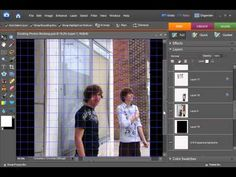 Digital Scrapbooking Tutorial - Dividing and Slicing Photos
