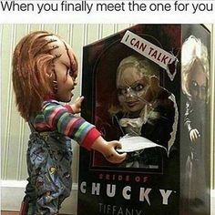 Discover the Best Horror Movies Chucky Movies, Chucky Horror Movie, Horror Movie Characters, Best Horror Movies, Horror Films, Scary Movies, Slasher Movies, Scary Funny, Funny Horror