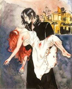 I just can't stand snape-haters... he has to carry so much pain, it makes me want to cry.