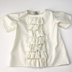 ruffled baby dress tutorial - see kate sew