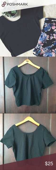 American Apparel | Black fitted crop tee This crop top features a tight fit and cap sleeves. Runs small, depending on preferred fit (I wear a S in brands like Madewell and this is fairly fitted on me). In excellent preworn condition. No trades or PayPal. American Apparel Tops Crop Tops