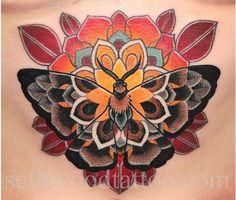 mandalas mariposas tattoo - Buscar con Google
