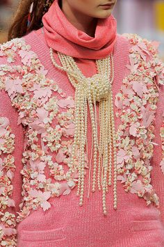 See the most gorgeous detail shots and closeups from Fashion Week - including this one from Chanel
