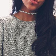 Diamond Ariana Grande Inspired Choker | Stargaze Jewelry