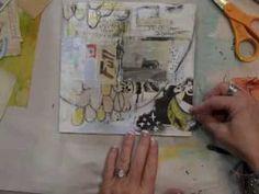 Video > Creating mixed media art using an inspiration deck - Roben-Marie Smith  #techniques #ideas #process