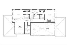 Craftsman Style House Plan - 3 Beds 2.50 Baths 2797 Sq/Ft Plan #926-3 Floor Plan - Upper Floor Plan