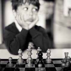 chess with the boy