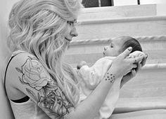 A tattooed mom I will be