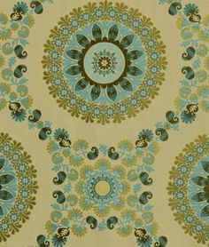 Robert Allen Flower Circle Pool | onlinefabricstore.net