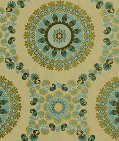 Robert Allen Flower Circle Pool | onlinefabricstore.net