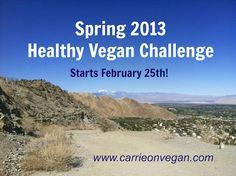 Spring 2013 Healthy Vegan Challenge photo.