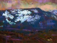 """Colockum Snow Fields"" - Original Fine Art for Sale - © Jennifer Evenhus"