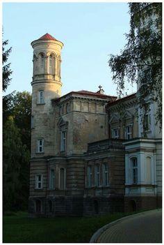 Bakończyce pałac Lubomirskich