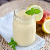 Paleo Peach Coconut Smoothie - Cook Eat Paleo