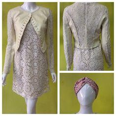 Sobredosis de encaje - lace over lace #amolapeli #beige #leather #lace Turbante de Pachamama Accesorios