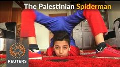 Meet the young Spiderman from Gaza