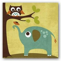 """owl and elephant 
