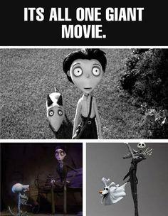 Tim Burton Is A Genius