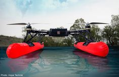 New drone to give MPA better view of oil spills | Development of the drone, called the Water Spider, started last year and it will undergo trials at sea soon.