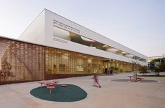 The Architecture of Early Childhood: A centre in Israel that sits atop public space - fostering community