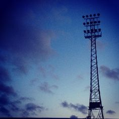 Famous floodlights of Dalymount Park Dublin, Originals, My Photos, Soccer, Football, Sky, Park, Night, Instagram Posts