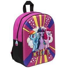 Official My Little Pony Girls Kids 3D Backpack Rucksack Nursery School Bag 45f855aae8452