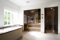 Home Spa Room, Spa Rooms, Shower Rooms, Sauna Steam Room, Sauna Room, Master Shower, Master Bathroom, Bathroom Inspiration, Interior Design Inspiration