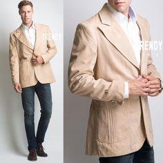 Men's Vintage Jacket Men's jacket Vintage by TrendyHipBuysVintage