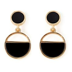 Warehouse Warehouse Resin Circle Drop Earrings (40 PEN) found on Polyvore featuring women's fashion, jewelry, earrings, accessories, resin jewelry, warehouse jewellery, earring jewelry, circle jewelry and circular earrings