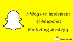 5 Ways to Implement a Snapchat Marketing Strategy Video Advertising, Marketing And Advertising, Snapchat Video, Industry Research, Seo News, New Market, News Blog, 5 Ways, Youtube