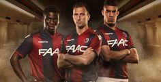 Ceci est le nouveau Maillot de foot Bologne Domicile pour la saison 2016/2017;