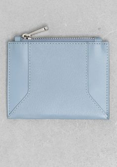 Small blue leather pouch❣ & Other Stories