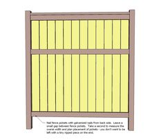 Ana White | Build a Cedar Fence | Free and Easy DIY Project and Furniture Plans
