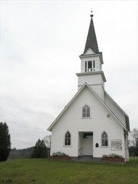 Little White Church on the Hill  Washington, United States
