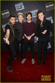 Watch One Direction's NYE Performances Here! (Video): Photo #910436. Liam Payne, Niall Horan, Louis Tomlinson, and Harry Styles make an appearance on Dick Clark's New Year's Rockin' Eve 2016, which aired on Thursday (December 31).…