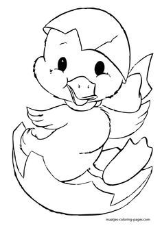 Easter Coloring Pages Chick Easter Coloring Pages, Coloring Book Pages, Printable Coloring Pages, Coloring Pages For Kids, Coloring Sheets, Easter Colors, Digi Stamps, Colorful Pictures, Easter Crafts